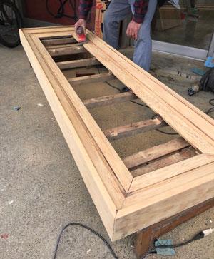 木製看板-補修11
